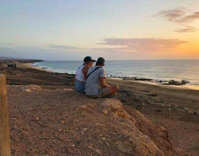 van salteados en el Cotillo, Fuerteventura