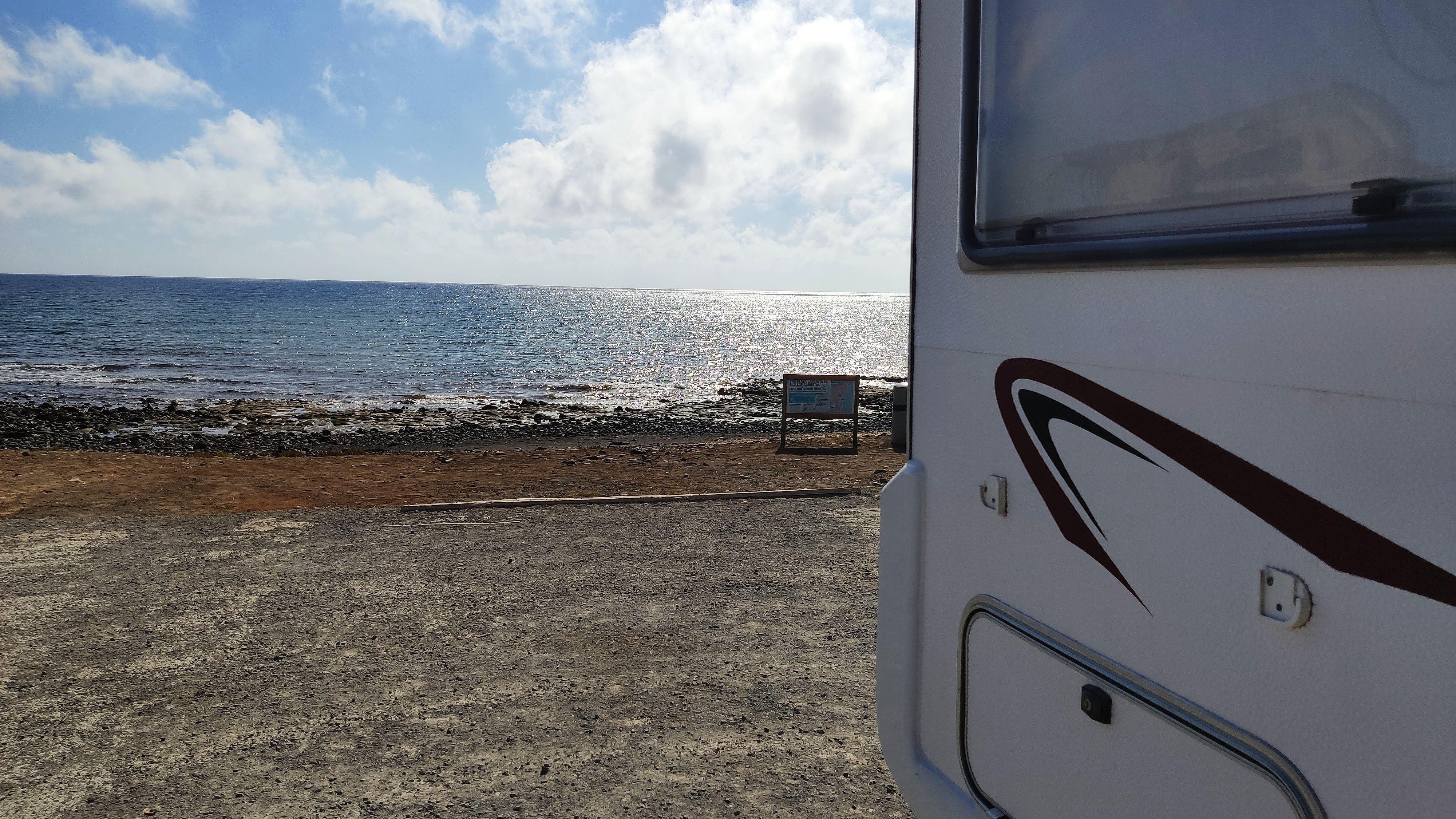 Caravana Puerto Lajas, Fuerteventura