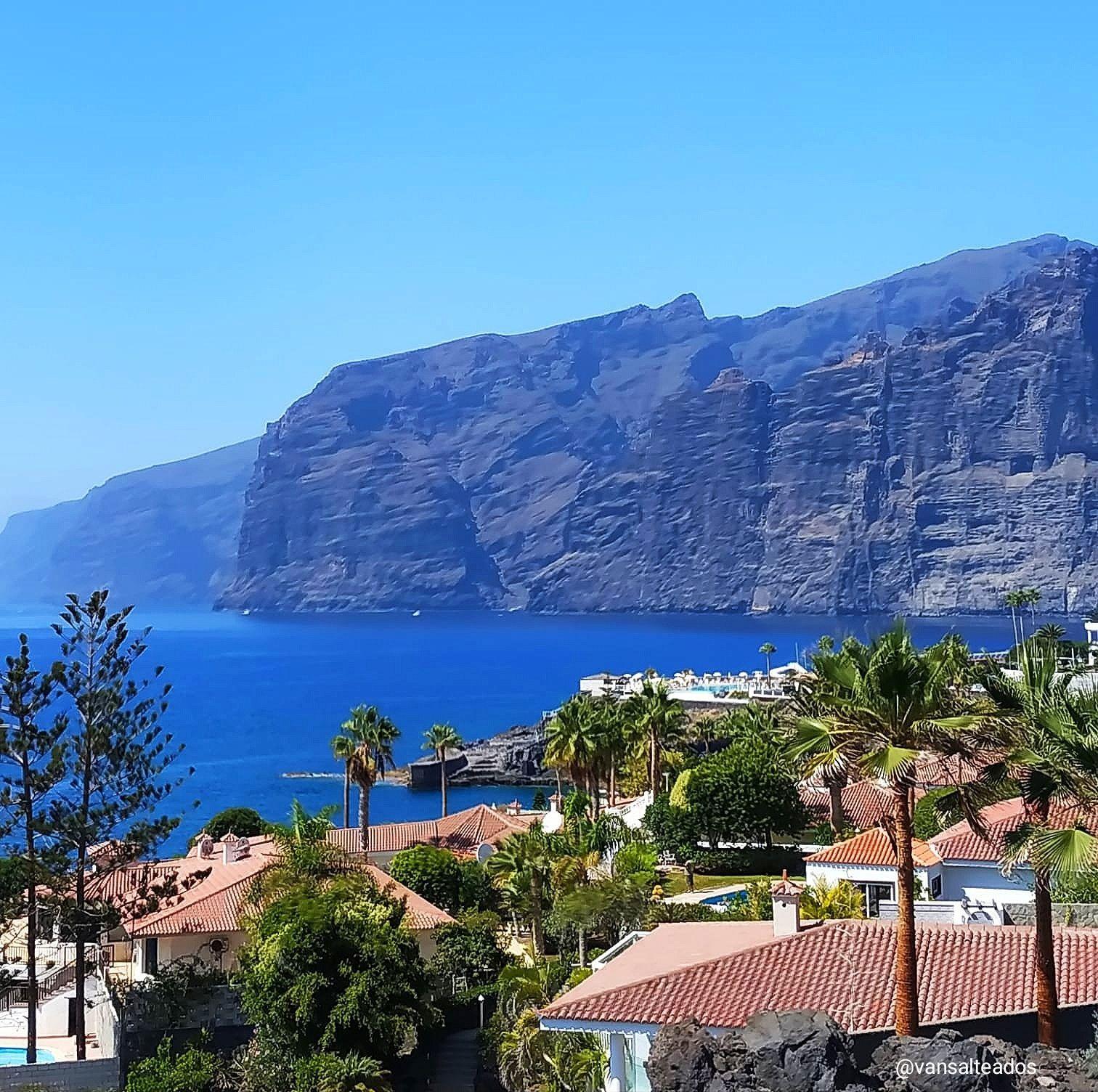 Acantilado de los gigantes, Tenerife