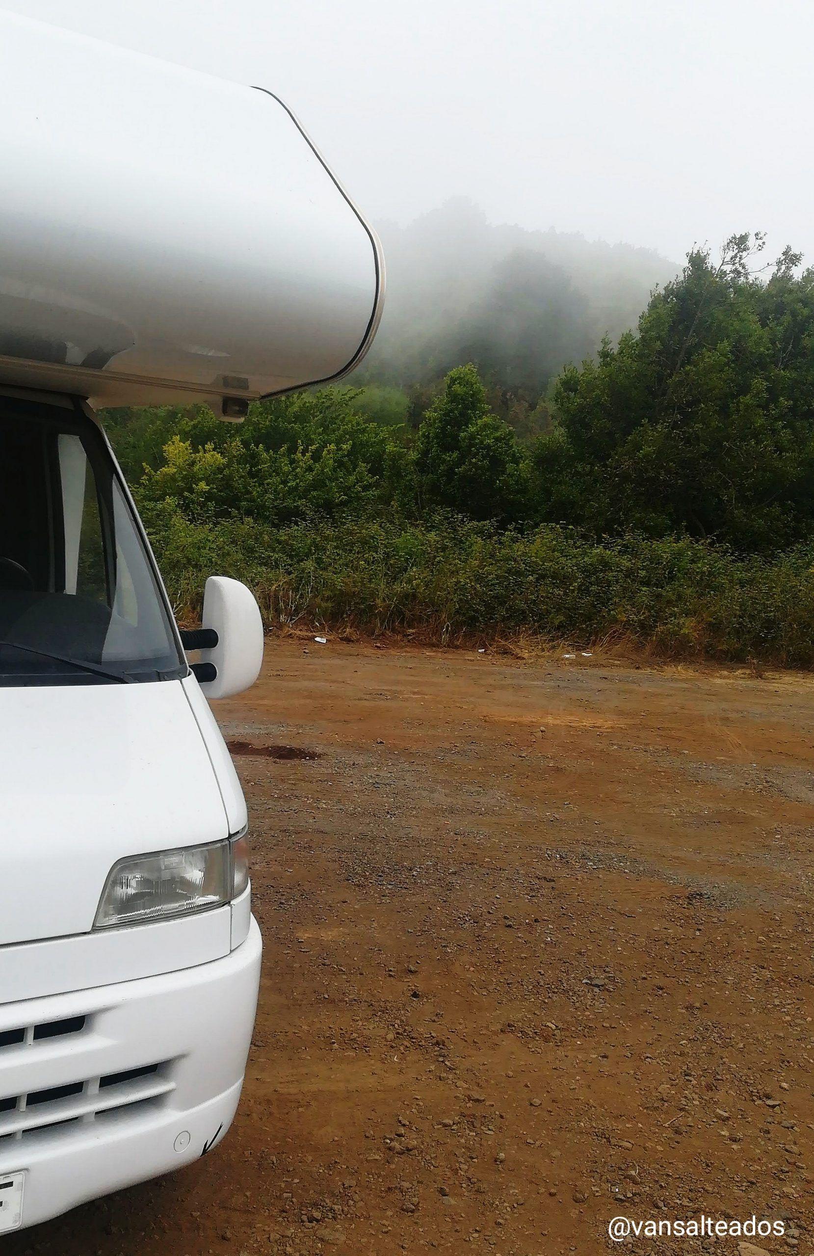 caravana en Erjos, Tenerife