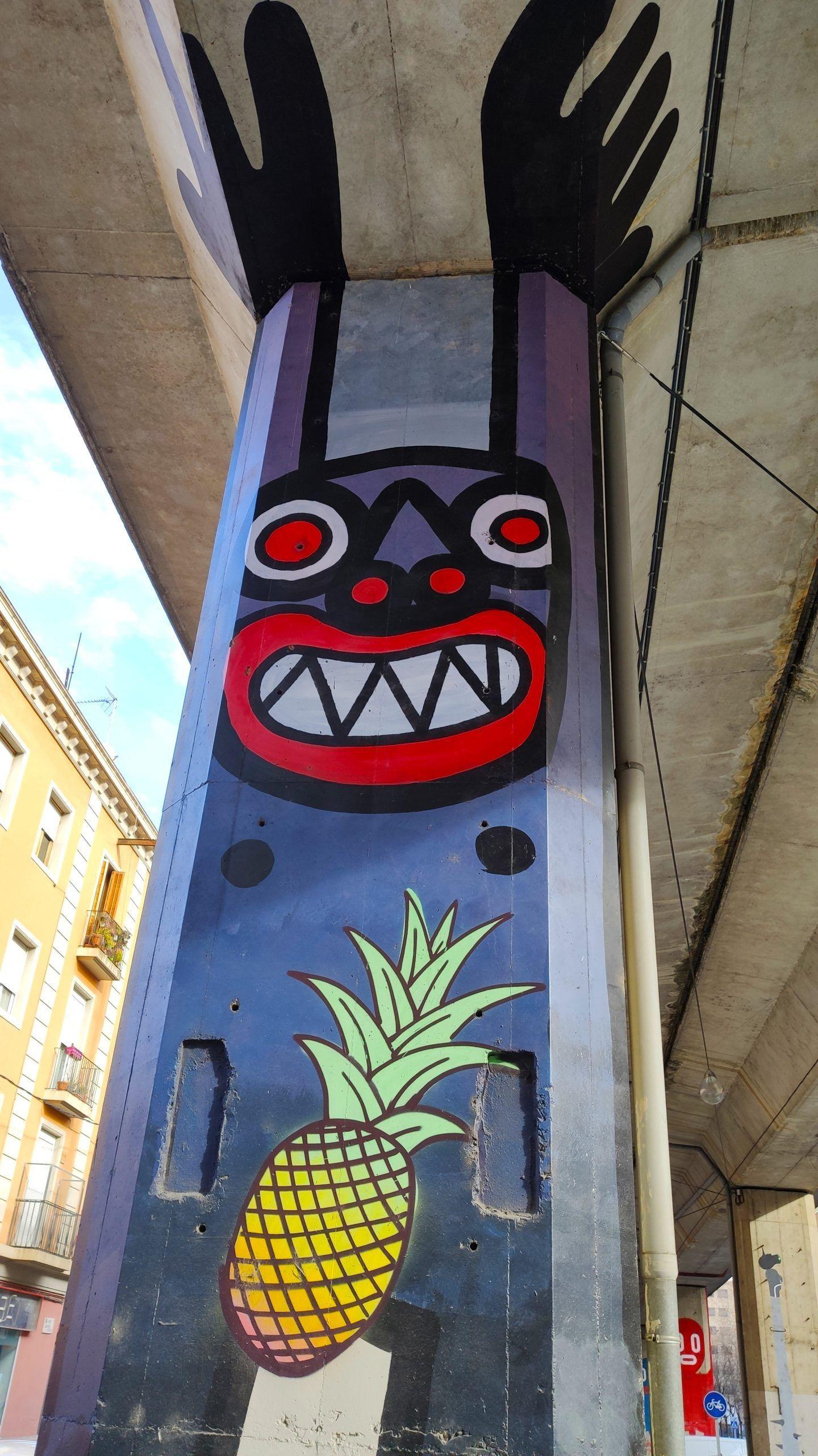 grafiti Girona Boris Hoppek