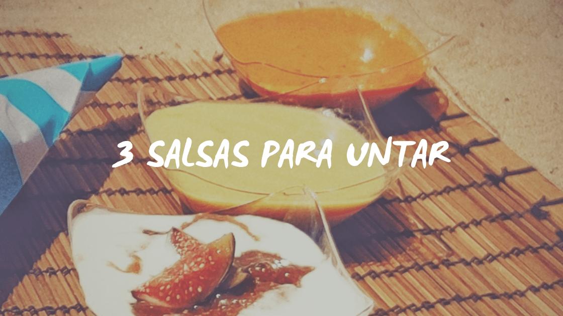 Enlace a 3 salsas para untar