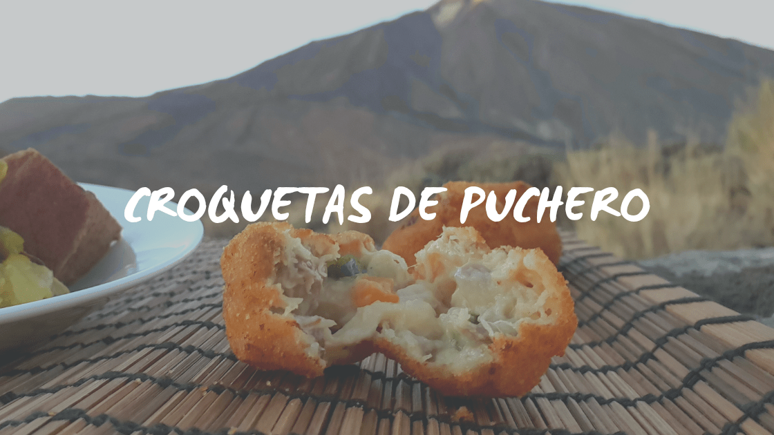 CROQUETAS DE PUCHERO CANARIO