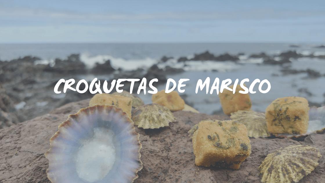 RECETA CROQUETAS DE MARISCO
