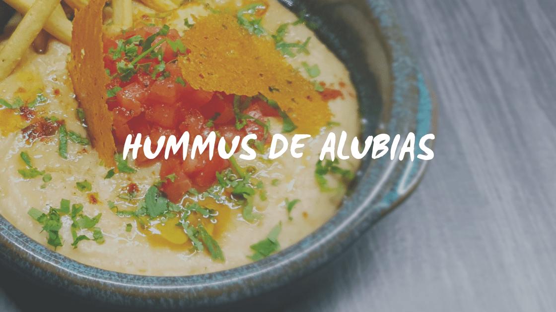 Enlace a Hummus de alubias