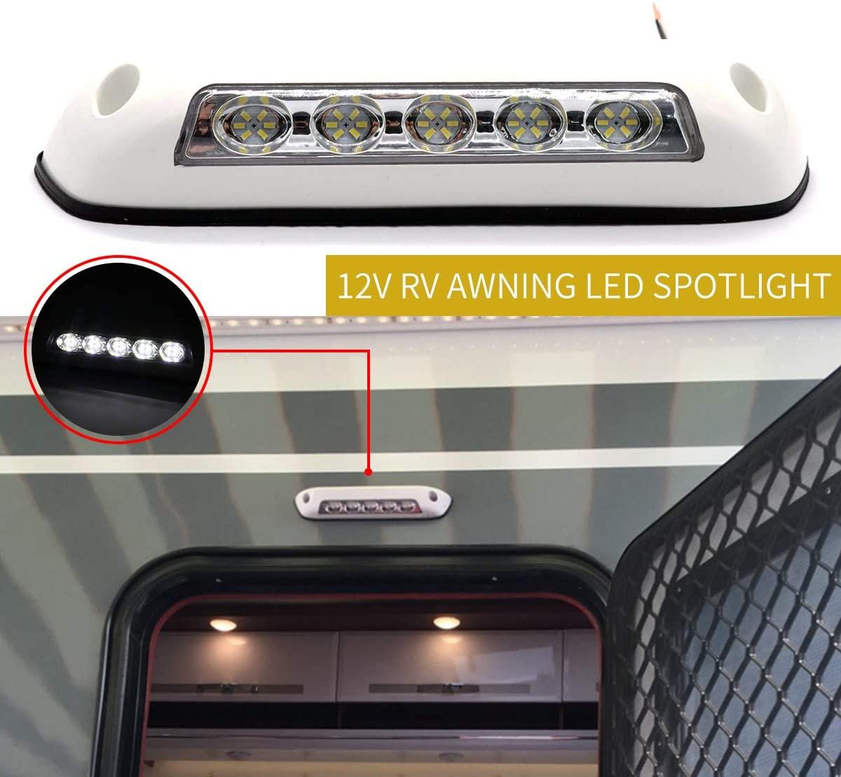luz led exterior para autocaravana