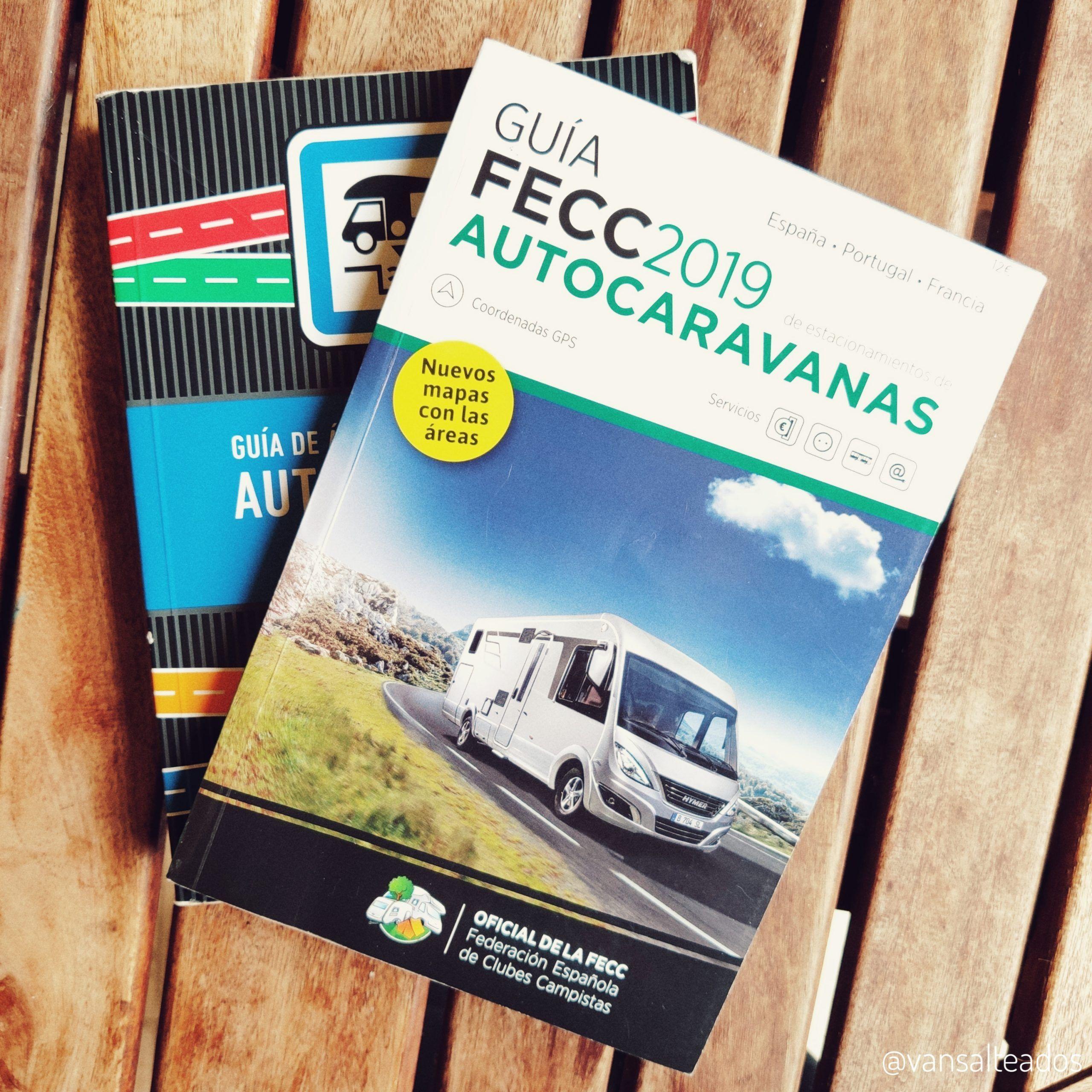 Guías de áreas de servicio para autocaravanas