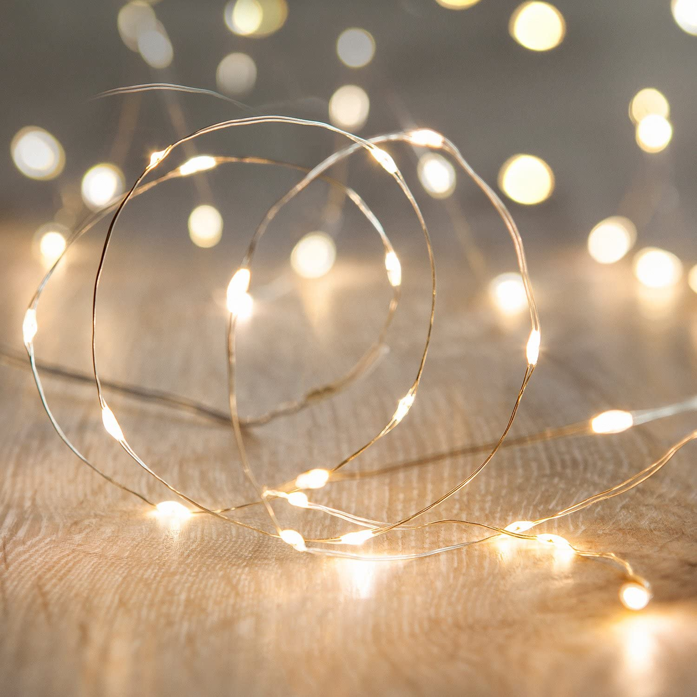 guirnalda luces decorativa de interior