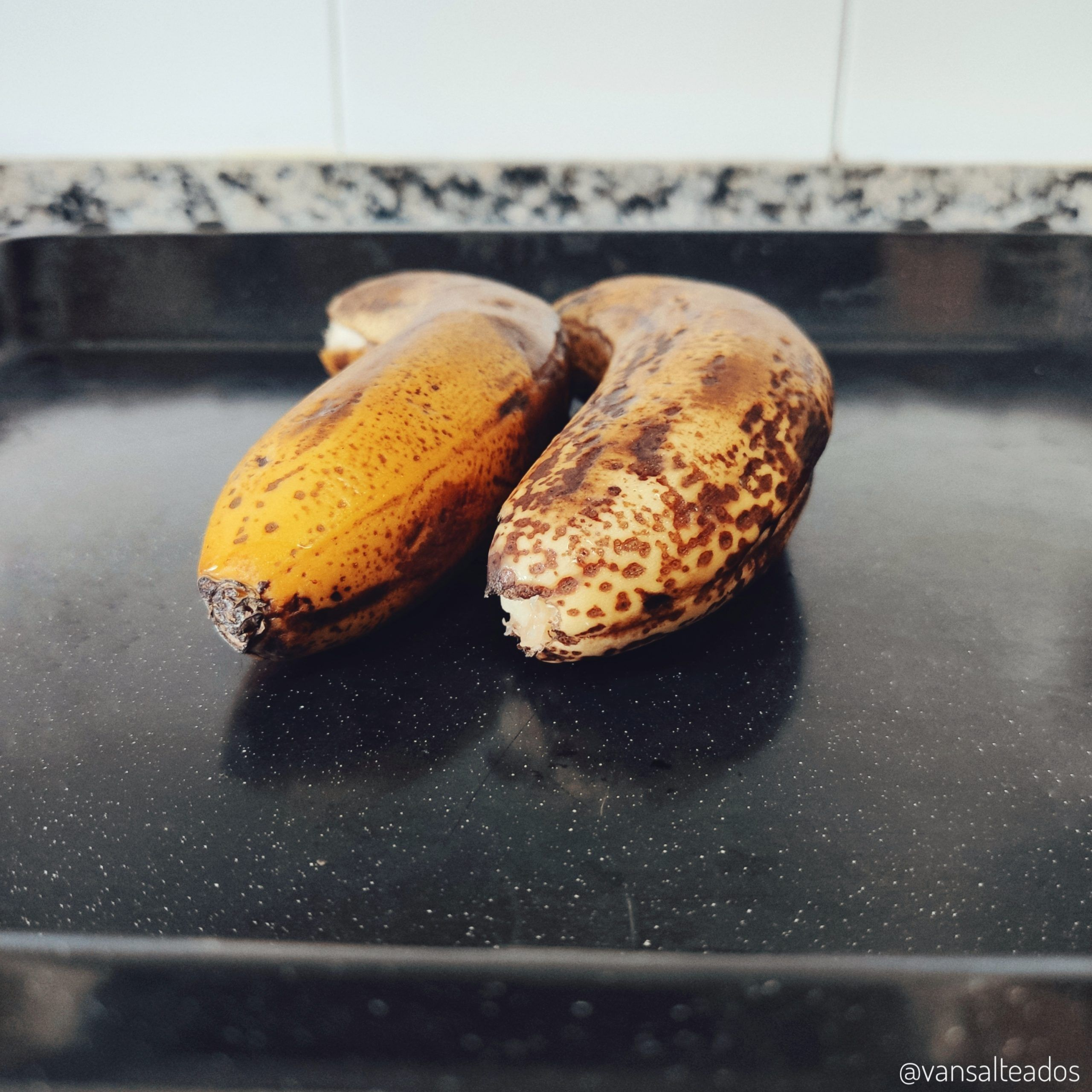 Asar los plátanos