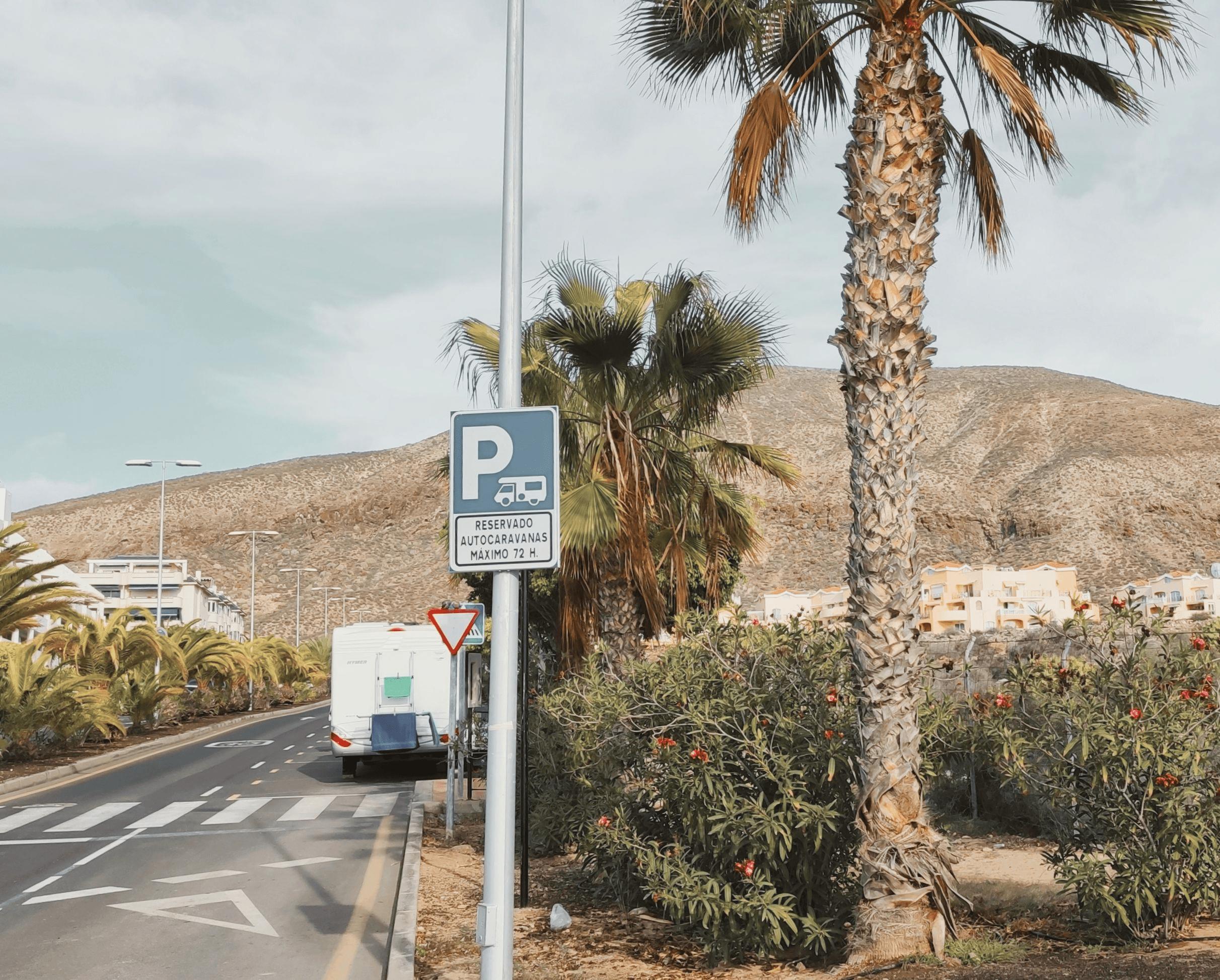 Parking para autocaravanas