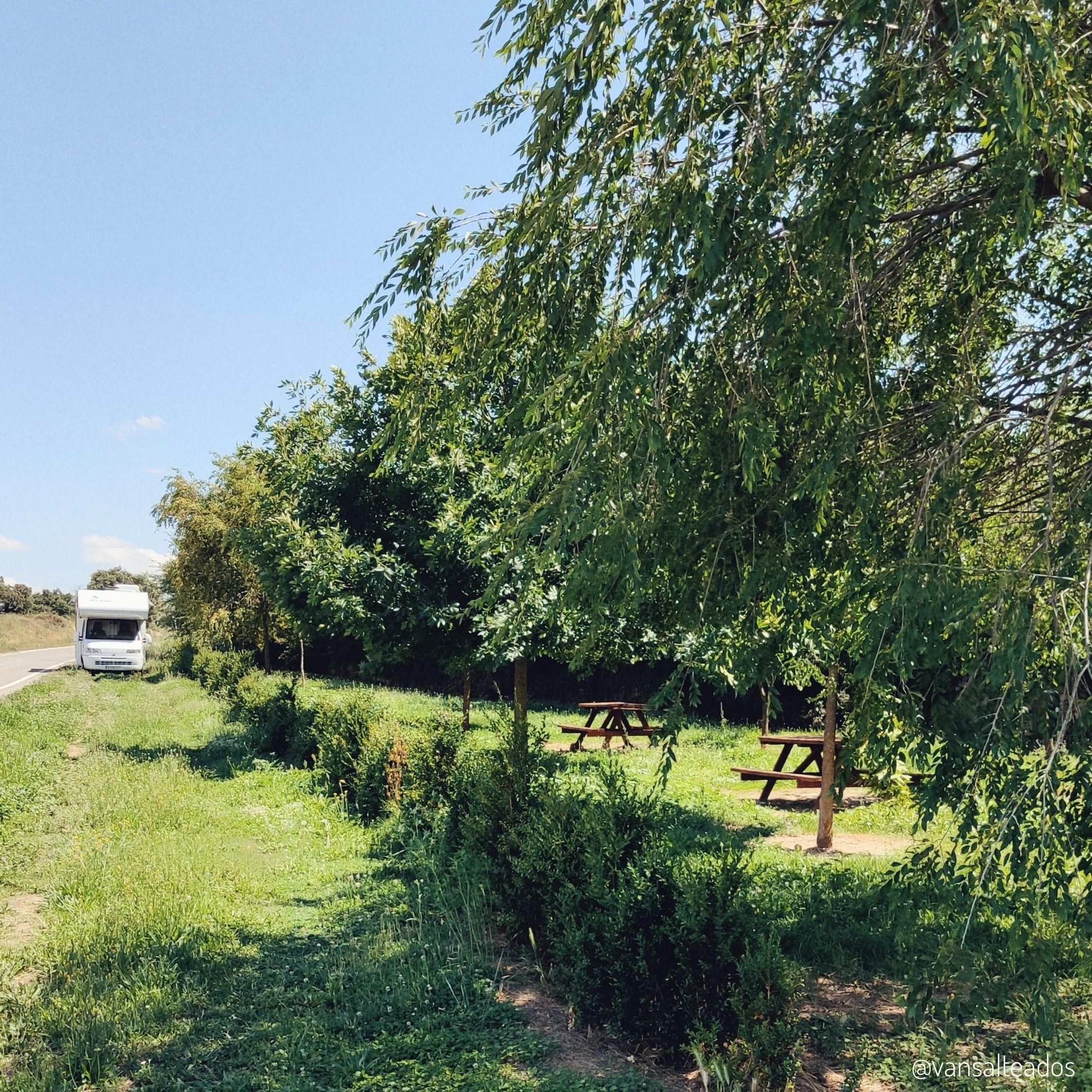 Labata, área de picnic