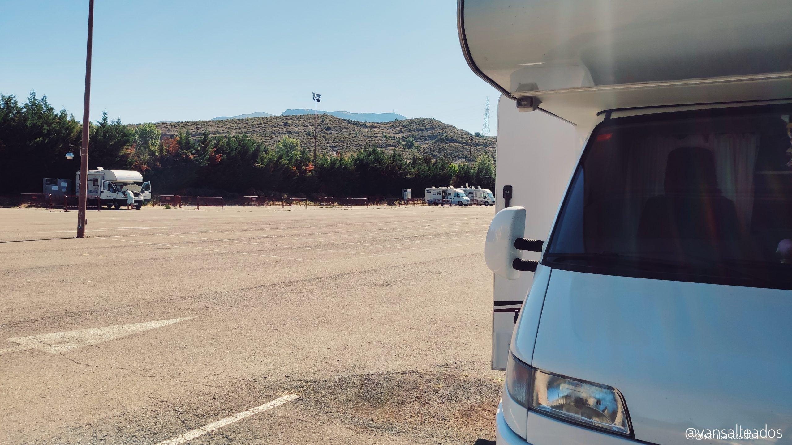 Área de autocaravanas de Sabiñánigo