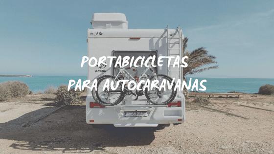 Portabicicletas para autocaravana y caravana