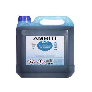 ambiti 5 litros liquido azul wc quimico