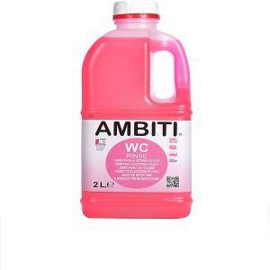 ambiti wc liquido rosa cisterna caravana