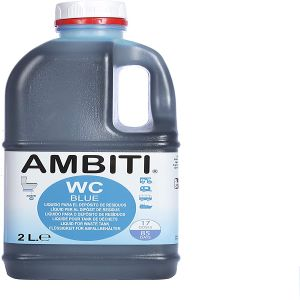ambito wc liquido azul autocaravanas