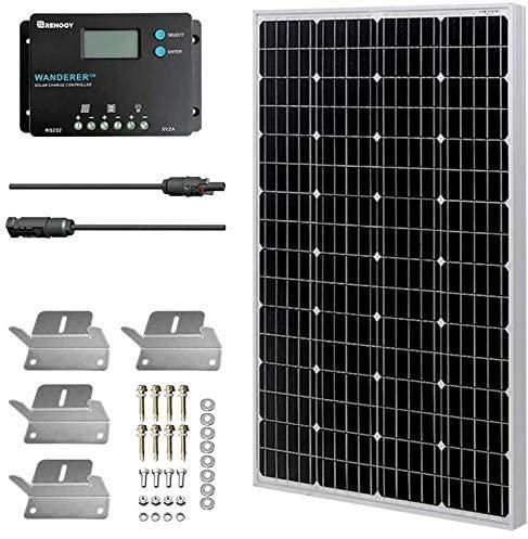kit solar 100W autocaravana