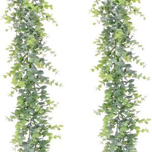 guirnalda de planta decorar autocaravana
