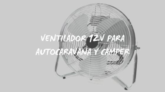PORTADA VENTILADOR 12V AUTOCARAVANA
