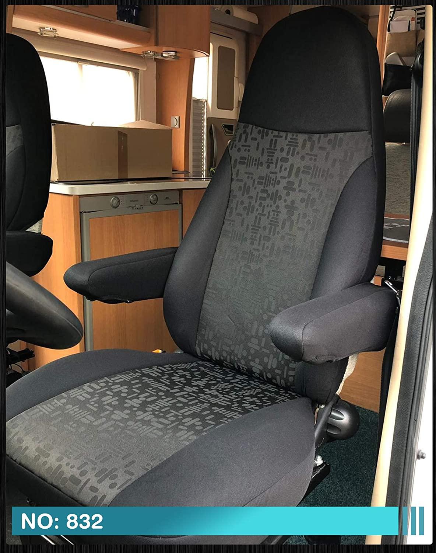 fundas negras para asiento autocaravana