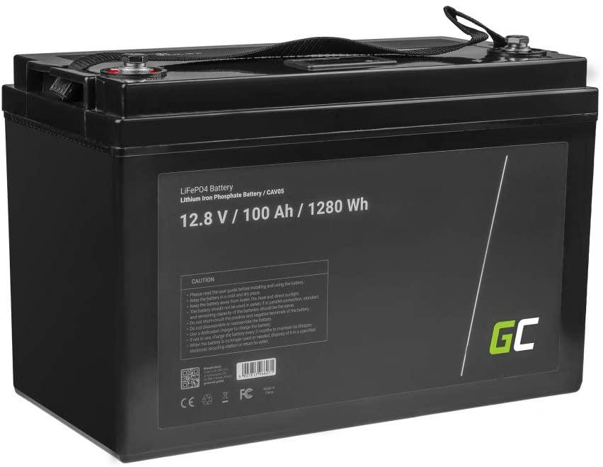 batería de litio autocaravana