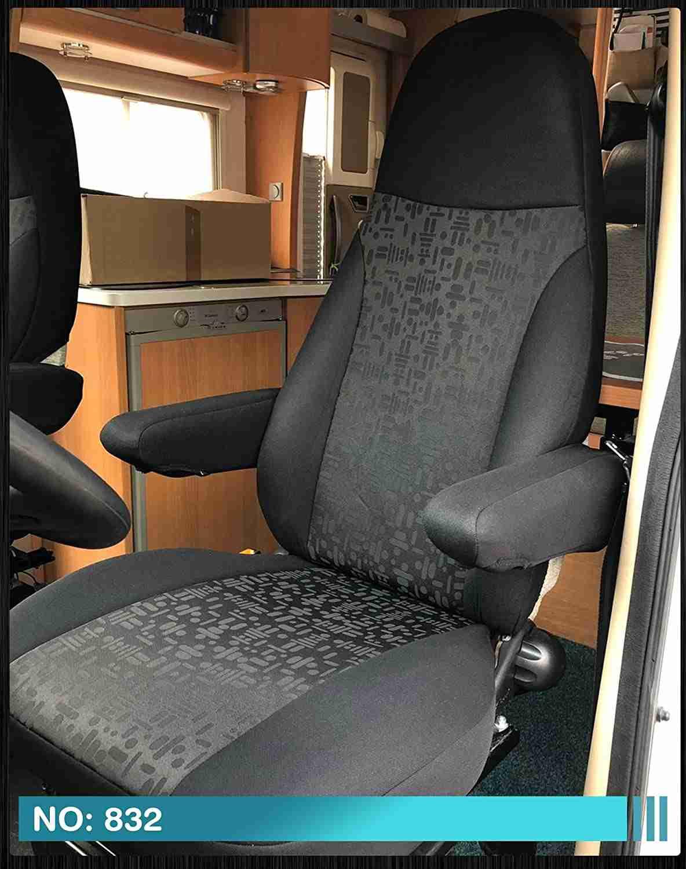 fundas-negras-para-asiento-autocaravana con reposabrazos
