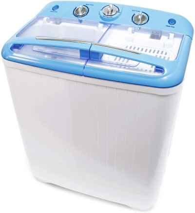 mini lavadora camping 5,2kg caravana